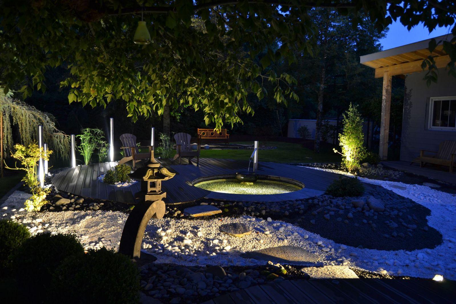 Aménagement de jardin par un paysagiste dans le Médoc