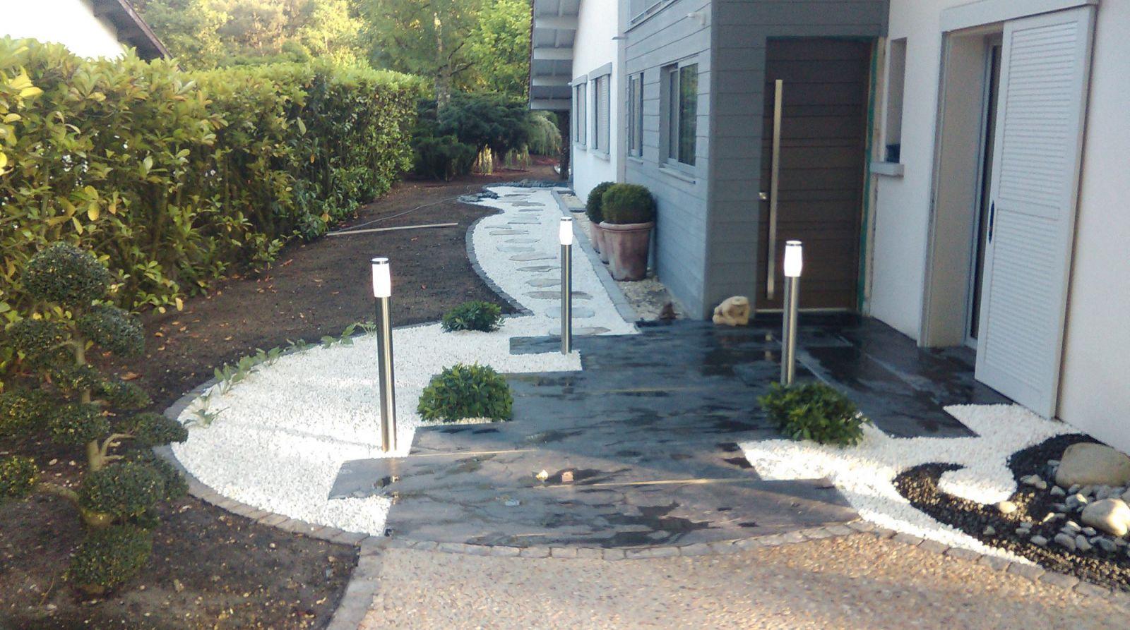 Conception et aménagement d'un jardin zen par un ...