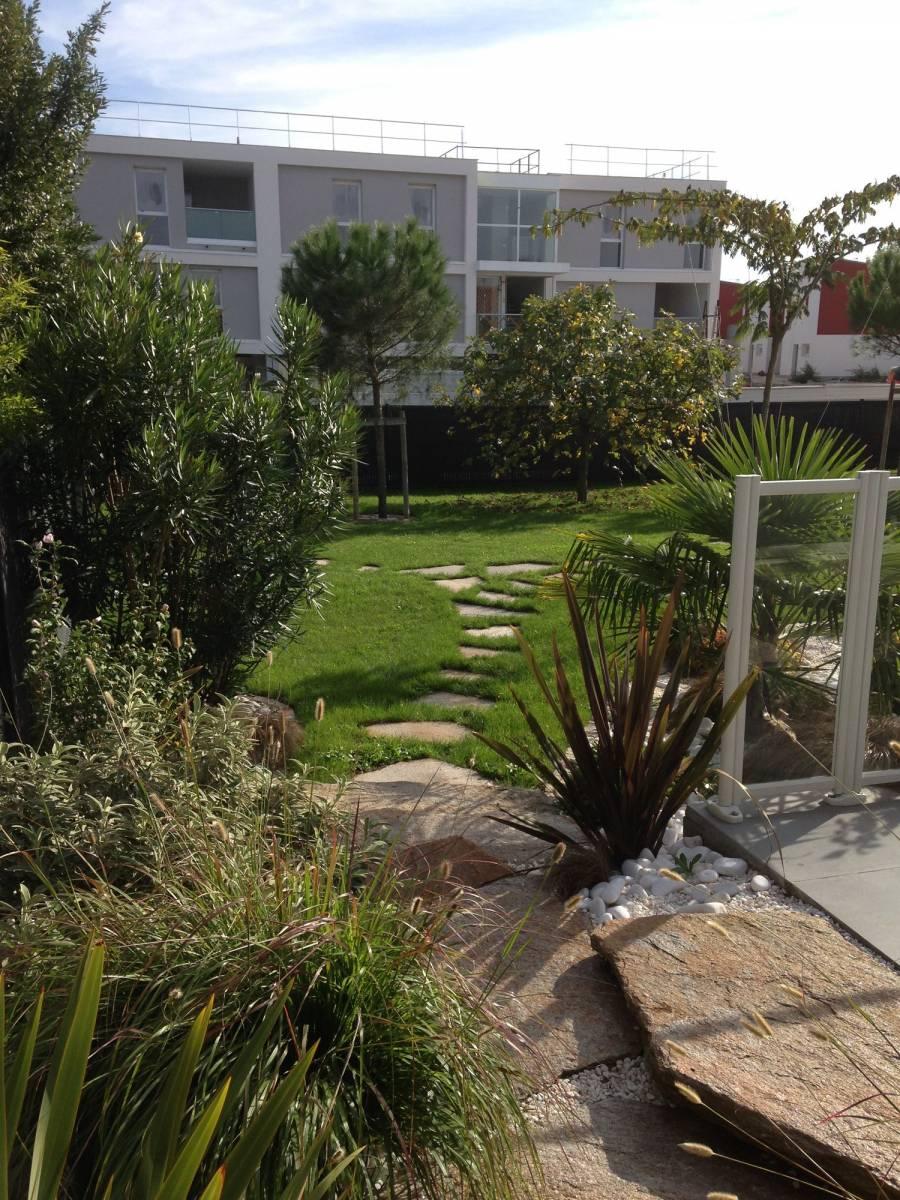 Conception et r alisation d 39 un jardin m diterran en par un Realisation jardin
