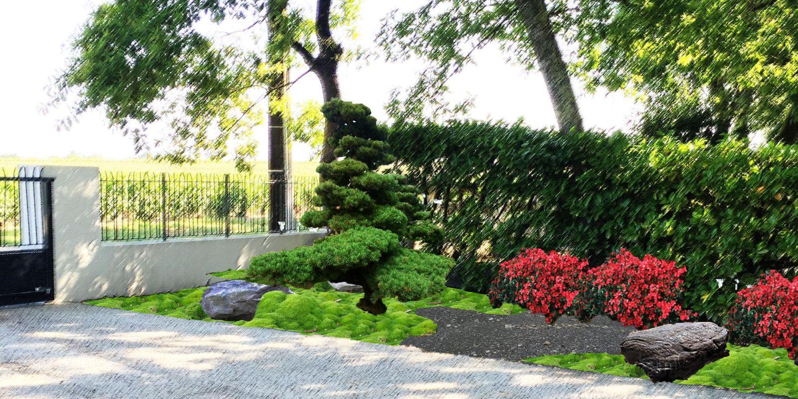 Paysagiste pour r alisation de photomontages dans le m doc for Realisation paysagiste jardin