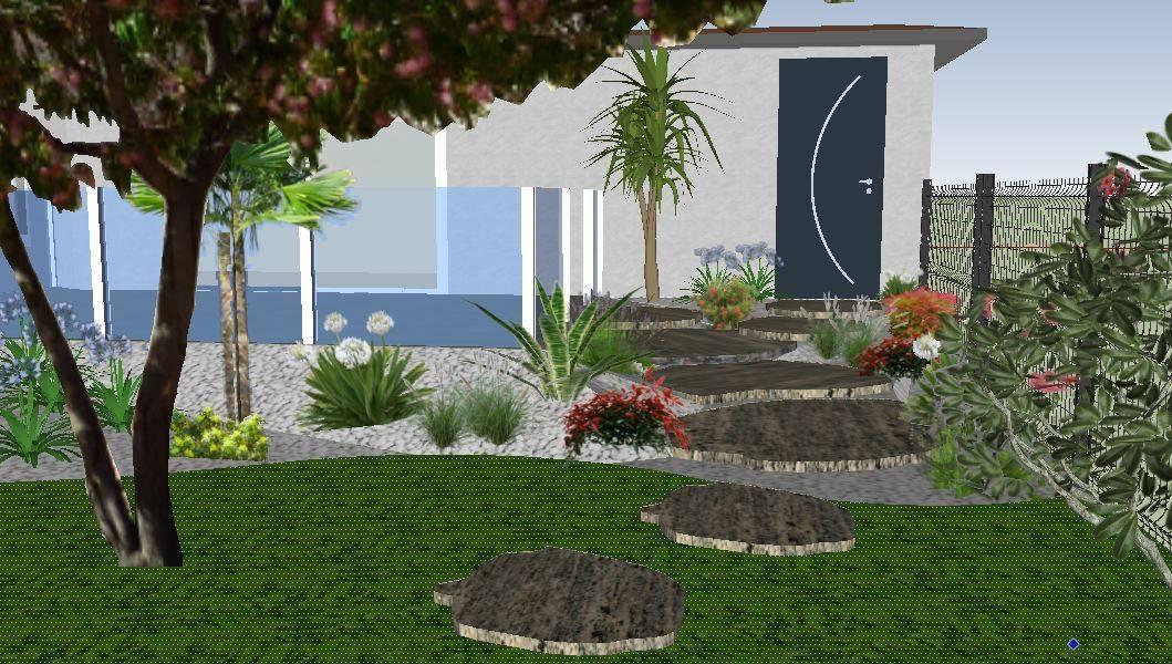 Paysagiste pour r alisation d 39 l vation de jardin for Realisation paysagiste jardin